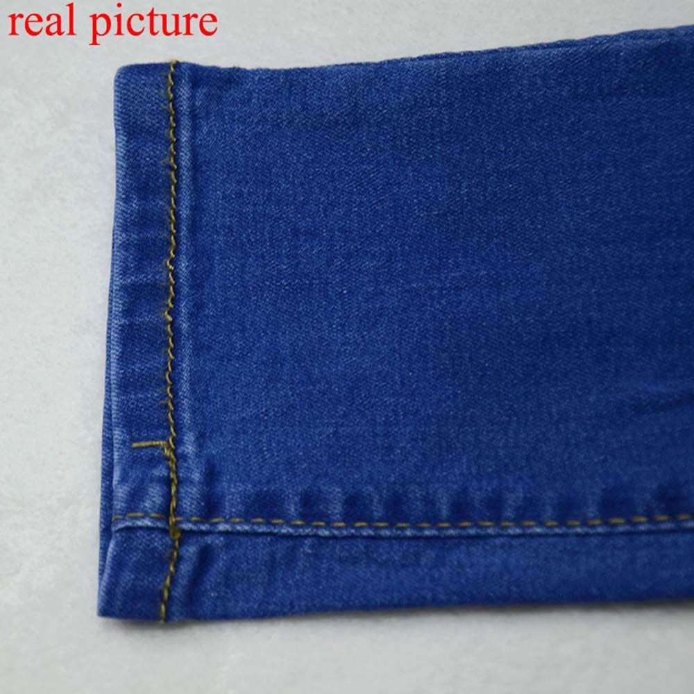 Denim pants long trousers slim fit 3