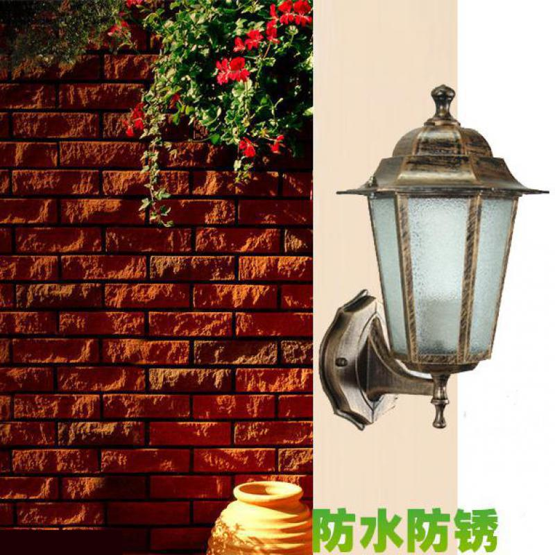 ФОТО Free shipping outdoor lighting vintage outdoor wall lamps garden light  bedroom wall lighting aisle wall Sconce outdoor lamp