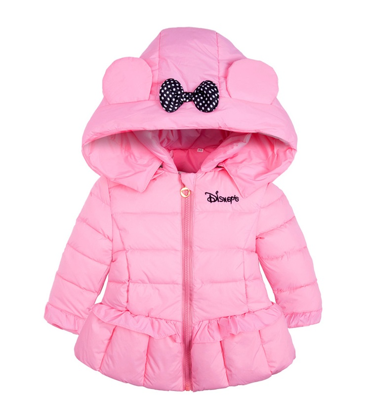2016 new children outerwear winter Hooded coats Winter Jacket Kids Coat children's Girls clothing set Down & Parkas
