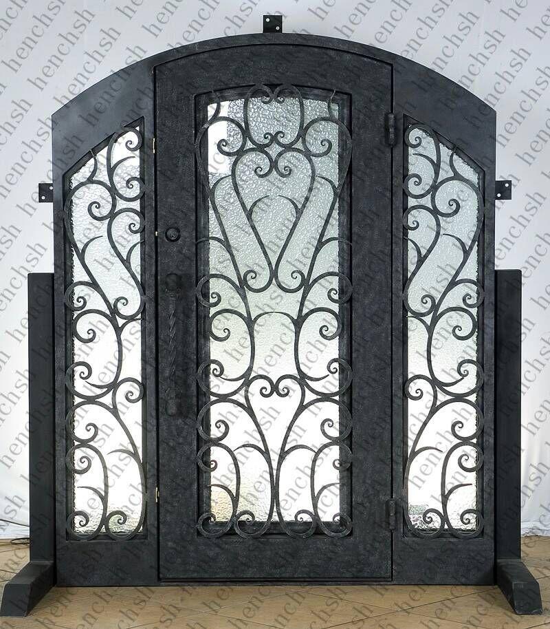 Entry Double Door Designs kerala model double door wooden design youtube Custom Design 74 X 98 Wrought Iron Entry Double Doors Oct10