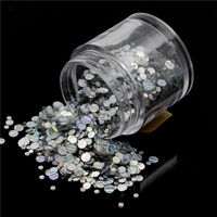 1kg 3mm Round Glitter Powder For Nail Polish Or Gel 1mm And 2mm Selectable Glitter In