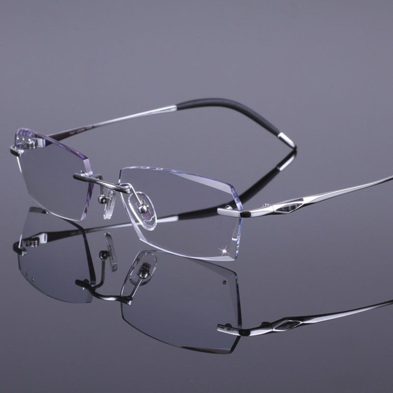 Vintage Silver Wire Rimed Eye Glasses With Designer Case Free Shipping