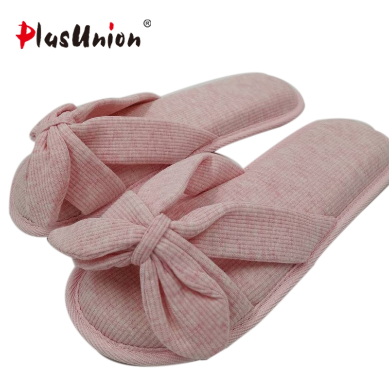 cotton fabric solid winter indoor winter slippers for women Ladies fuzzy house home Adult Pink faux fur furry rihanna shoes s140 цена и фото