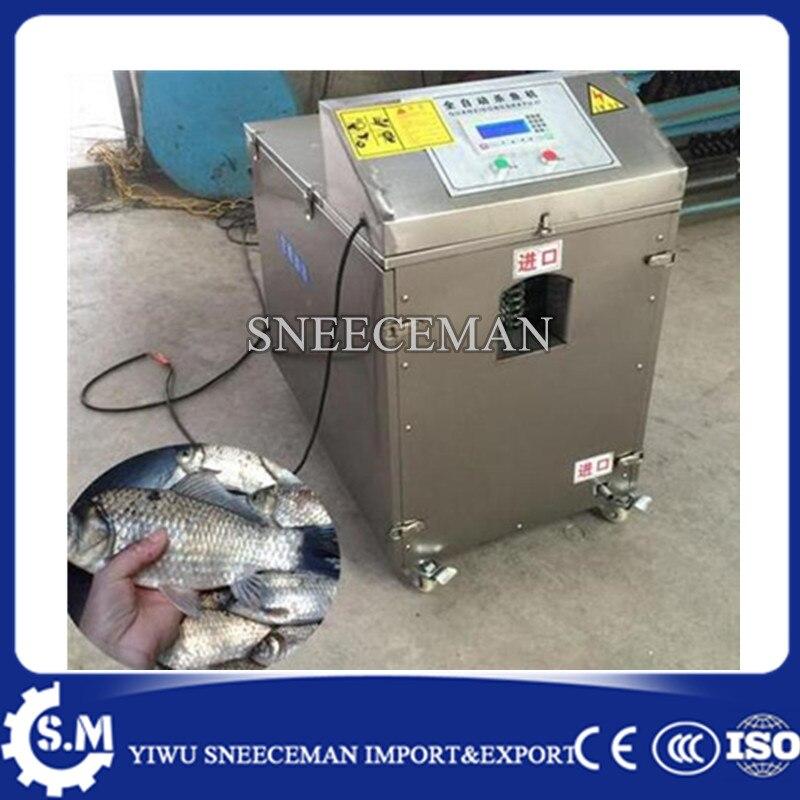 Machine de tueur de poisson offre spéciale nouvelle machine de pêche automatique enlever les écailles de poisson organes internes ouvrir le ventre de poisson