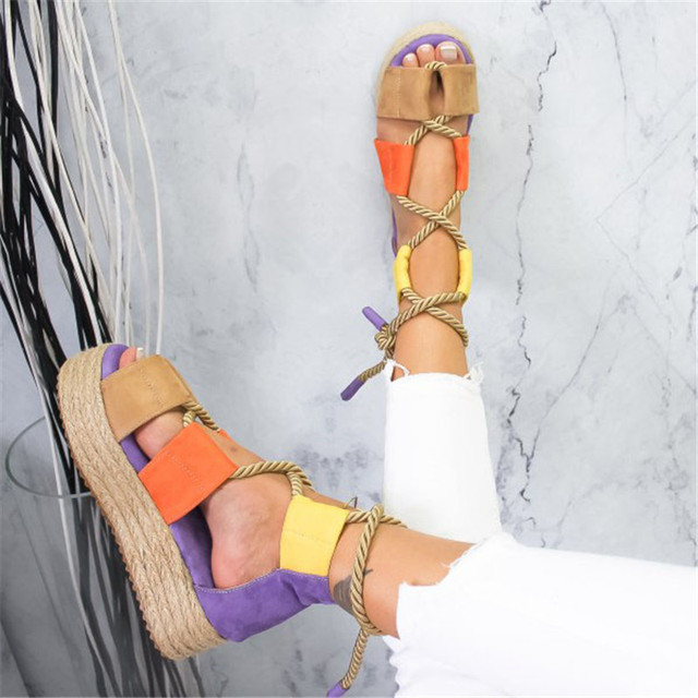 Women High-Heel Gladiator Sandals