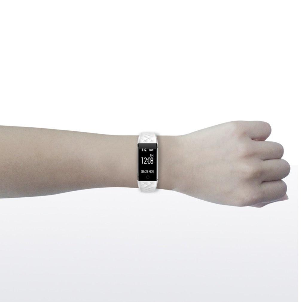 S2 Sport Smart Bracelet Heart Rate Monitor Waterproof IP67 Fitness Bracelet Tracker Smart Wristband Bluetooth For Android 5
