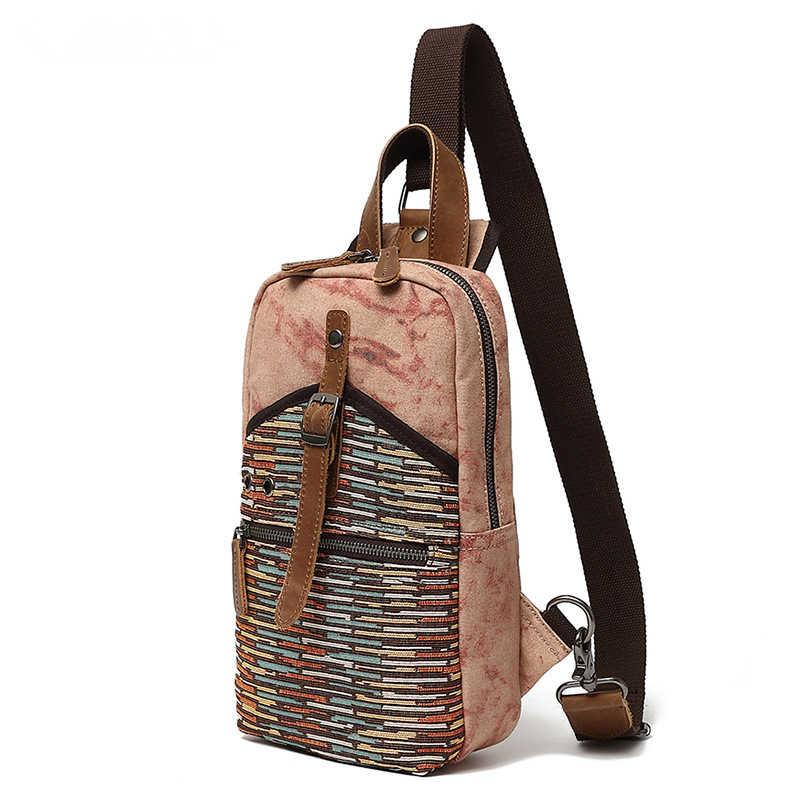 แห่งชาติสายคล้องไหล่เดี่ยวกลับกระเป๋า Crossbody กระเป๋าผู้หญิงหน้าอกเอว Pack SLING Pack Travel PASS พอร์ต