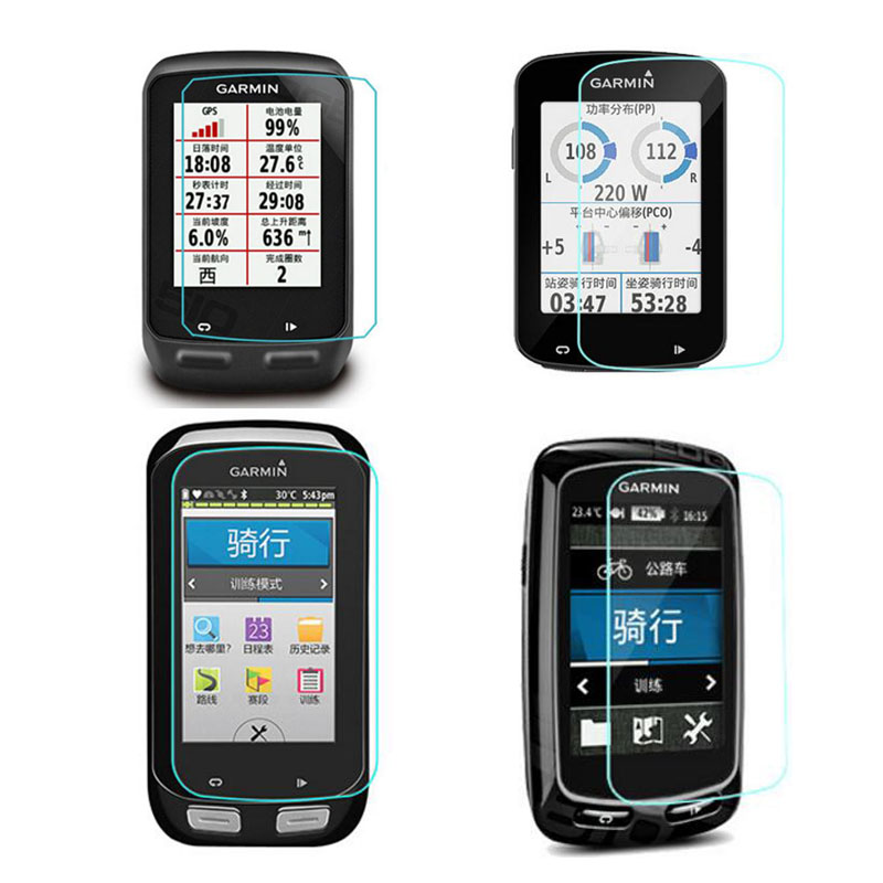 Tempered Glass Protective Film Guard For Garmin edge 510/520/530/830/820/1000/1030/130 GPS <font><b>Bike</b></font> <font><b>Computer</b></font> Screen Protector Cover image