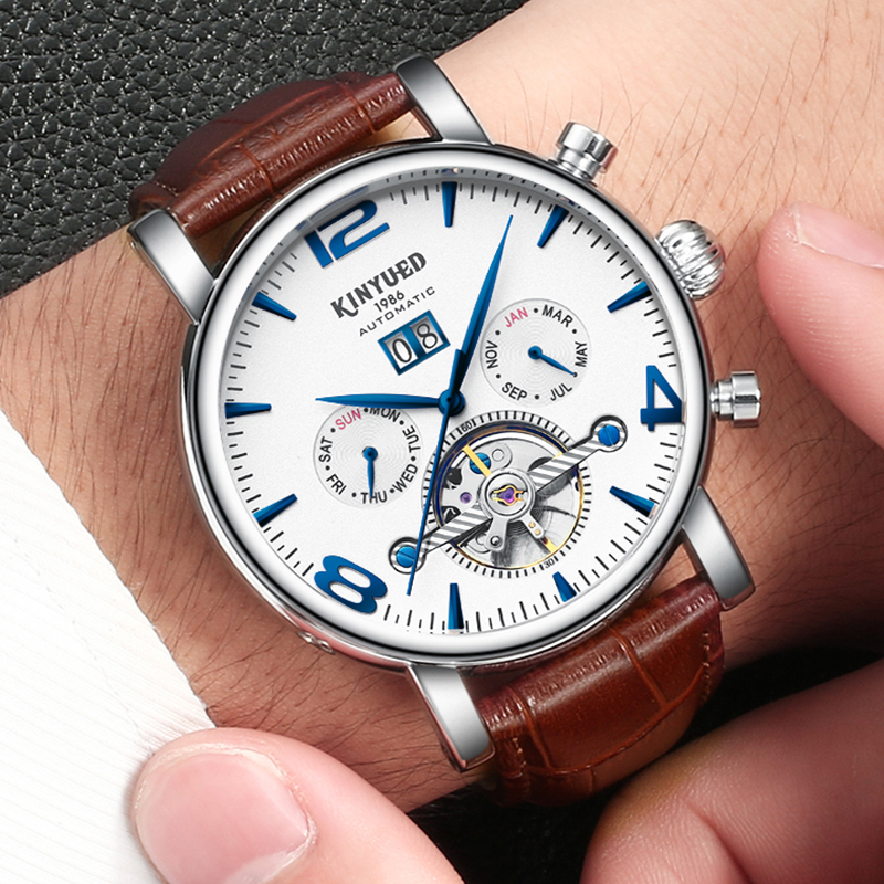 New Arrivals Luxury Brand Mens Automatic Watch Business Mechanical Wristwatches Calendar Hardlex Wrist Watch for Festival GiftsNew Arrivals Luxury Brand Mens Automatic Watch Business Mechanical Wristwatches Calendar Hardlex Wrist Watch for Festival Gifts