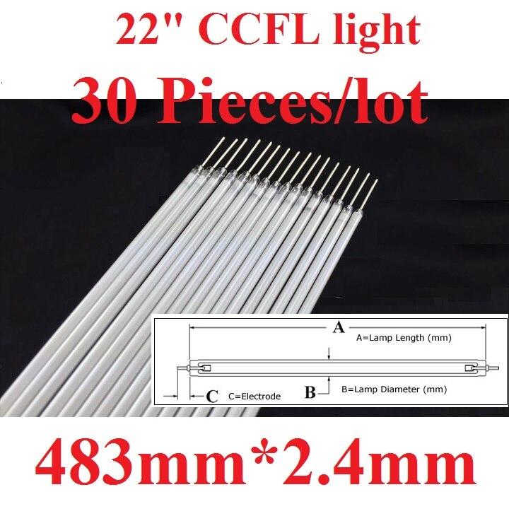 30 Pieces lot 22 22 inch monitor CCFL light backlight 483mm 48 3cm 2 4mm