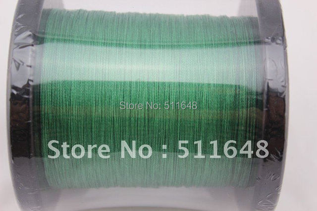 Free Shipping 1000M/PCS 15LB PE Braid Fishing Line GREEN