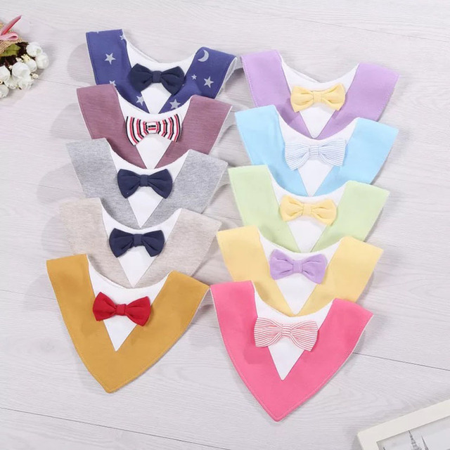Bib Baby Girl Bibs Apron Babador Newborn Baberos Breastplate Waterproof Cotton Infant Clothes 0-36 months