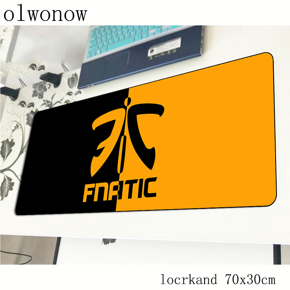 Fnatic Mouse Pad Gamer High-end 700x300x2mm Notbook Mouse Mat Gaming Mousepad Large Locked Edge Pad Mouse PC Desk Padmouse