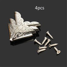 4pcs 22mm Book Angle Laptop Protect Horn Folders Notebook Corners Brackets Antique Iron Book Scrapbooking Albums Corner Protect(China)
