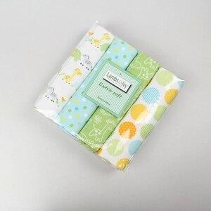 Image 3 - 2020 מכירה חדשה תינוק שמיכת Cobertor מצעים סט תינוק 100% רך ונוח יילוד גיליונות 4 רוזן פלנל קבלת שמיכות