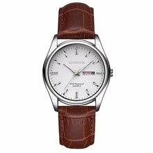 2020 Top Luxury Brand Men Women Watches Date Clock Leather Quartz Watch Male Clock Wrist Watch Relogio Masculino