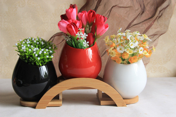 Garden Pots For Home U0026 Garden Supplies Modern Vase Living Room Coffee Table  Decorations With Bamboo