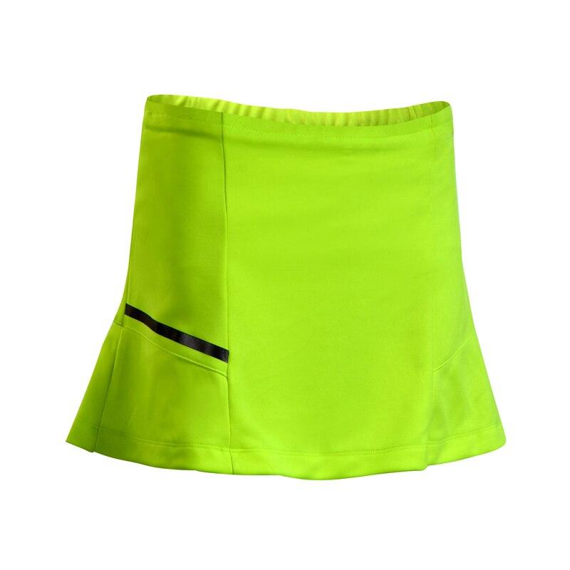 2 в 1 спортивная теннисная Йога шорты для бадминтона фитнес короткая юбка быстросохнущая дышащая Женская Спортивная юбка для тренировок и бега шорты - Цвет: Армейский зеленый
