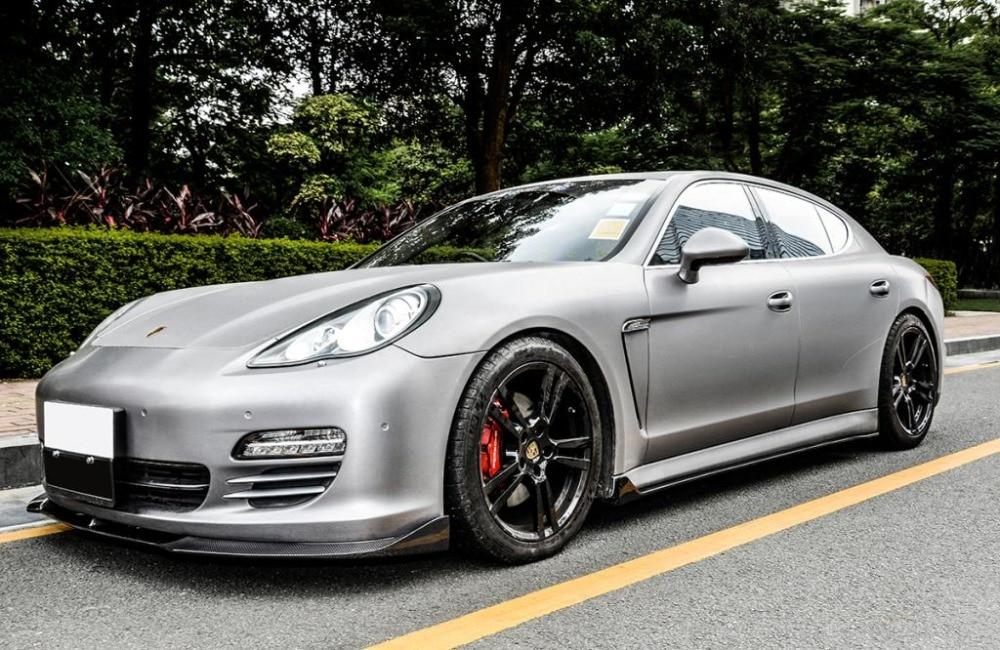 Carbon Auto Racing Seitenschweller Schürze Auto Styling für Porsche - Autoteile - Foto 2