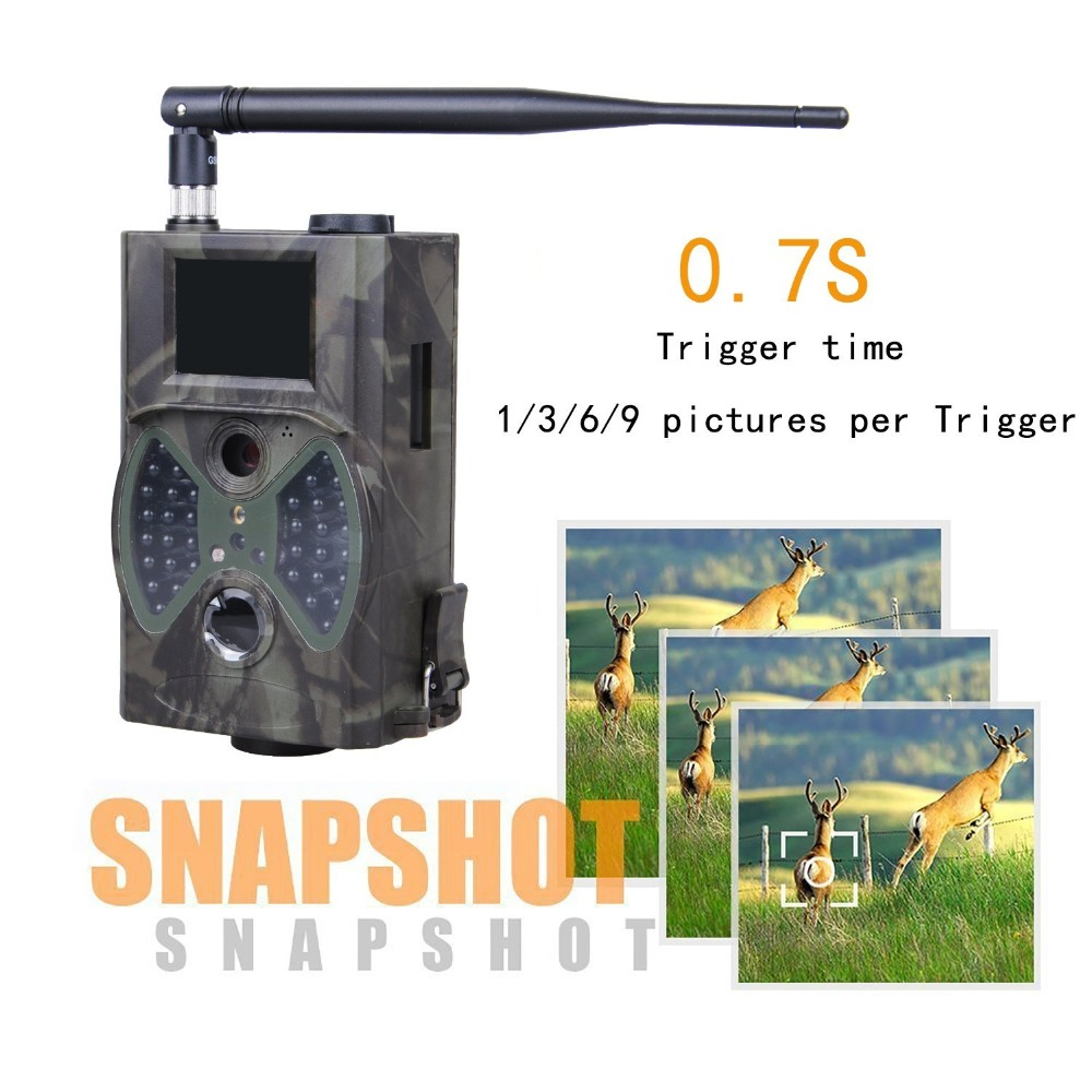 HC300M Trail Cameras 12MP 940nm NO Glow MMS GPRS Digital Scouting Hunting Camera Trap Game Cameras Night Vision Wildlife Camera (14)