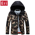 Camouflage Winter Jacket Men 2017 New Arrival Slim Fit Coats Long Sleeve Cotton-Padded Brand Fashion Parkas Duck Down 3XL X333