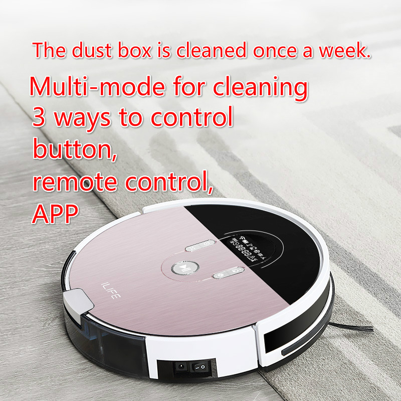 intelligent Sweeping robot Fully automatic vacuum cleaner Automatic charging Mopping machine Ultra Fine Air Filter Robot