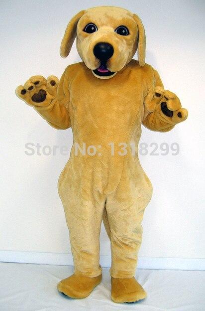 Labrador dog costume della mascotte del vestito operato della mascotte fantasia personalizzata costume cosplay a tema mascotte del carnevale