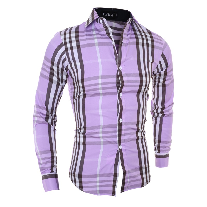 Online Get Cheap Mens Purple Dress Shirt -Aliexpress.com | Alibaba ...