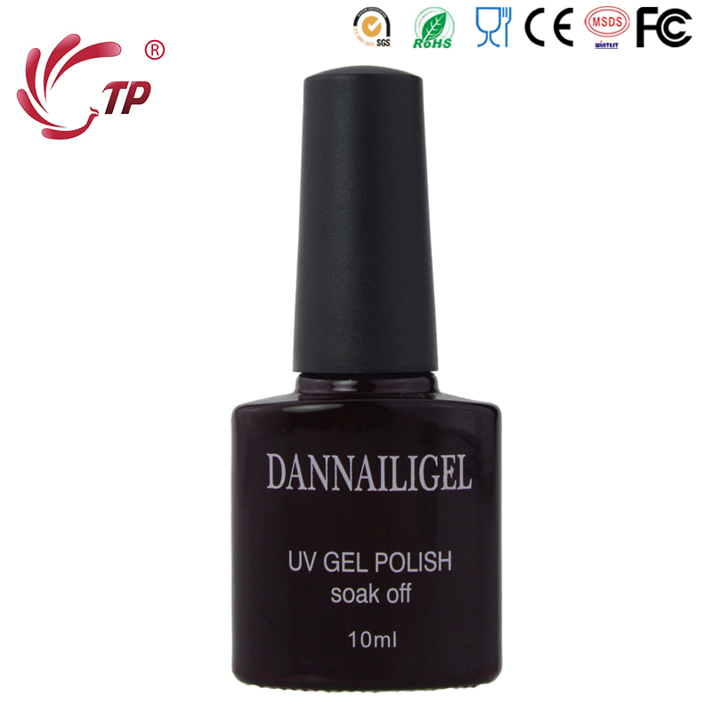 Dannail Brands Red Wine Color #62 UV Gel Varnishes Nail Polish Soak ...