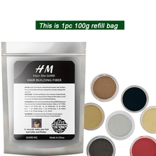 Hair Me 2019 1pc 100g hair fiber refill bag recycle best quality reuse anti loss 12 color powder growth