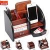 Popular Wooden Holder Pen Holder Vase Pencil Pot Stationery Desk Tidy Container Office Stationery Supplier Gift