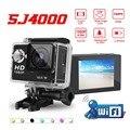 """S Câmera J4000 Ir Pro Estilo SJ9000 1080 P Wi-fi 2.0 """"LCD 12MP câmera de Mergulho DVR Capacete Câmera Câmera De Vídeo Esporte DV com Caixa de Varejo"""