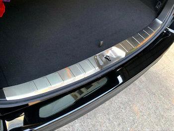Steel Inner Rear Bumper Protector Sill Trim 1pcs for Subaru Forester 2019
