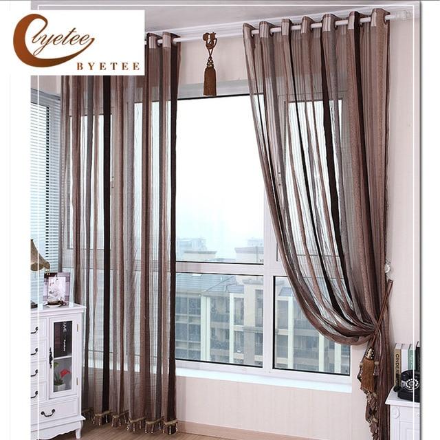 € 9.16 16% de DESCUENTO {Byetee} Europeo de Diseño de chenilla cortina de  ventana para la cocina Sala cortinas cocina de pura Puerta de hilo en ...