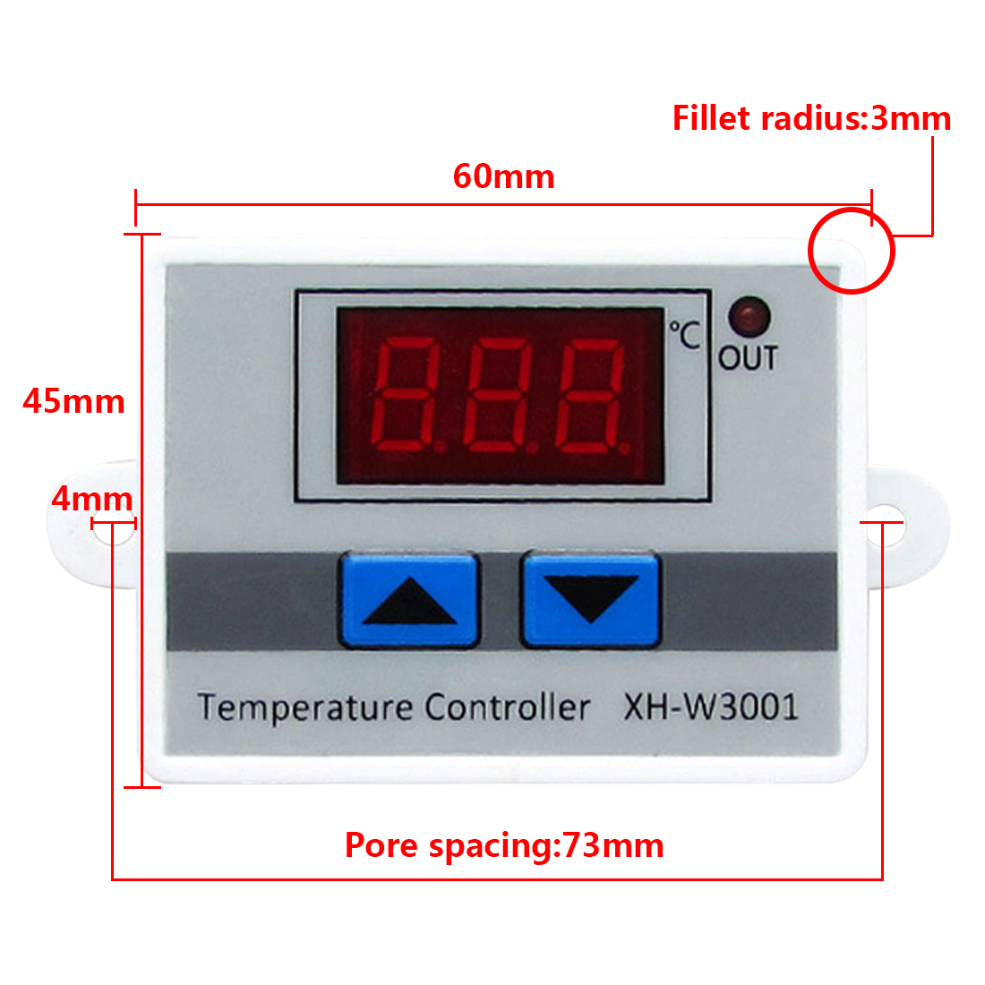 цена на Digital LED Thermometer Temperature Controller AC220V 10A Thermostat Incubator Control Microcomputer Probe Weather Station