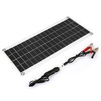 Cewaal Dual USB 15W DC/USB Charging Solar Panel Solar Charger USB DIY Travel 15W Solar Panel Solar System