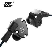 New KZ ZS6 2DD 2BA Hybrid In Ear Earphone HIFI DJ Monito Running Sport Earphone Earplug