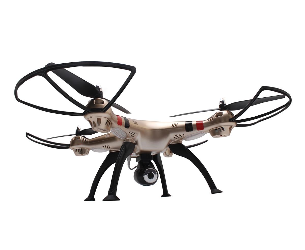 Tout nouveau Drone gyrorotor RC quadrirotor SYMA X8HC 2.4 Ghz 6 axes avec caméra Camra HD 2.0MP hélicoptère quadrirotor RC grand Angle VS X8C