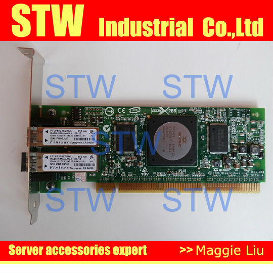 Host Bus Adapter AB379-60101 4GB dual port PCI-X  FC HBA Card , original 95% new, work perfect