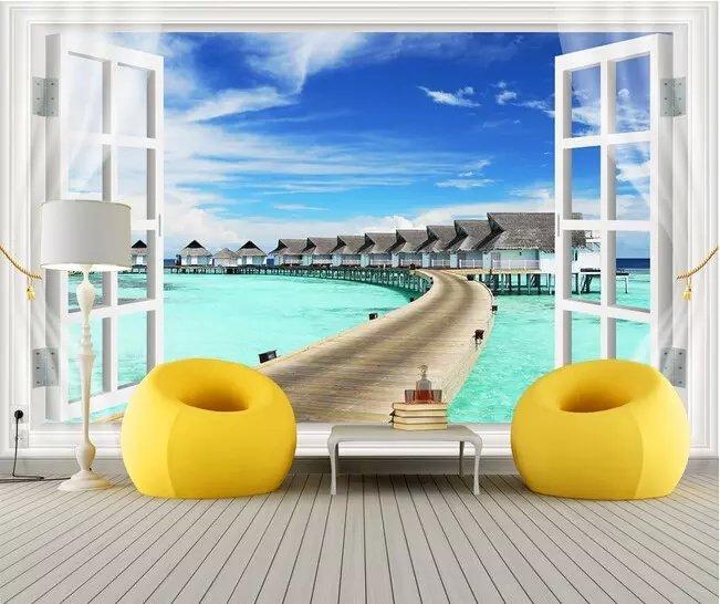 Popular Beach House Wallpaper-Buy Cheap Beach House