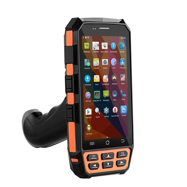 Rugged Handheld 5 Inch Mobile Terminals Wifi Bluetooth 4G LTE 2D Barcode Scanner PDA Handheld Scanner