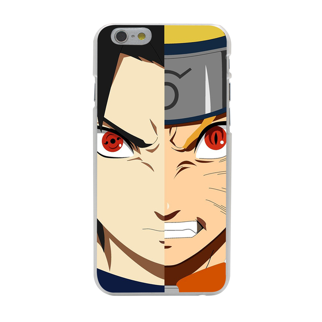 Naruto Transparent Hard Case For iPhone