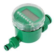 BESTOYARD Garden Irrigation Timer Home Water Timer Controller Set Water Programs (Green)