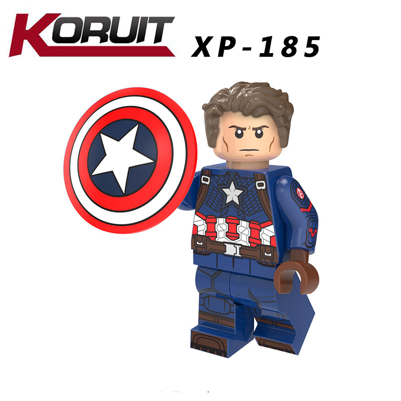 Single Sale LegoINGlys Super Heroes Avengers Endgame ROCKET RACCOON CAPTAIN America VISION Ronin Bricks Collection Toys Boy Gift