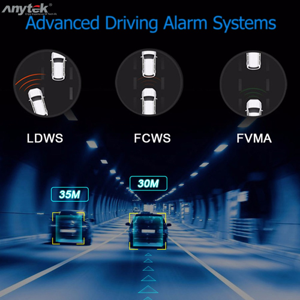 Anytek X28 Mini Car DVR DVRs Camera Full HD 1080P Auto