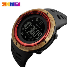 SKMEI Men Smart Watch Calorie Pedometer Multi-Functions Remote 50M Waterproof Digital Sports Men's SmartWatch Relogio Masculino