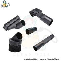4-sztuka mini narzędzia dysza narzędzie szczelinowe załącznik zestawy dla Karcher DS5500 WD3 MV3 WD4 MV5 WD5 WD6 P SE 5.100 części zamiennych