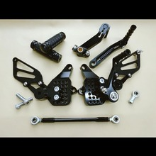 For Ducati 999 949 749 748 916 996 998 CNC Adjustable Rearsets Rear Set Motorcycle Footrest Moto Pedal 8 Color Foot Pegs