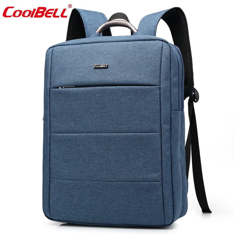 Coolbell casual backpack 15.6inch double-shoulder laptop bag student school bag Travel mountaineering bag Mochilas
