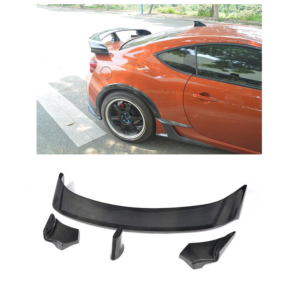 Compare prices on subaru spoilers online shoppingbuy low price carbon fiber rear trunk boot spoiler racing wing for toyota gt86 for subaru brz coupe vanachro Gallery